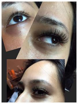 my eyelash extensions